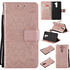 Leather Wallet Card Slots Case Magnetic Folio Cover For Nokia 3 5 6 8 9 Phones