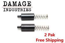 Damage Industries MilSpec Buffer Retainer Detent & Spring 5.56 223 308 (2 Pack)