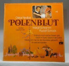 Oskar Nedbal Polenblut (Margit Schramm, Rudolf Schock, Ferry Gruber..) [LP]