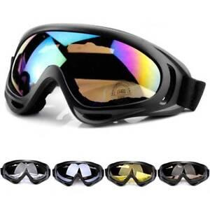 Double Lens Skiing Snowboarding Goggles Anti Wind Dust UV Snow Sun Glass #H10