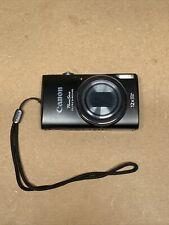 Canon PowerShot ELPH 340 HS / IXUS 265 HS 16.0MP Digital Camera - Black w/EXTRAS