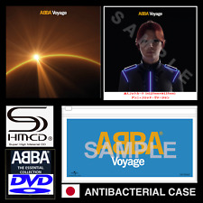 JAPAN CASE + VOYAGE SHM-CD+ESSENTIAL COLLECTION DVD +POSTER+PHOTOCARD! ABBA 2021