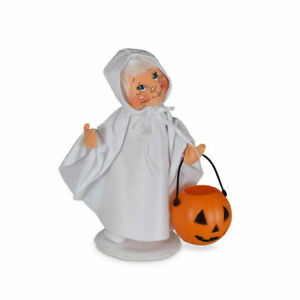 Annalee Dolls 2021 Halloween 7in Trick or Treat Ghost Kid Plush New with Tag