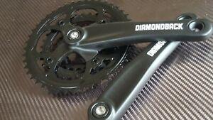 Diamondback Chainset 22/32/44T Mountain Bike Triple 8/9s Crankset (NEW) 170mm