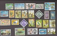 25 All Different NIGER Stamps