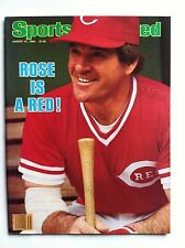 1984 PETE ROSE CINCINNATI REDS IS A RED 8-27-84 Sports Illustrated NO LABEL