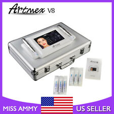 Rotary Permanent Makeup Tattoo Machine Microblading Artmex V8 Touch Screen 2Pens
