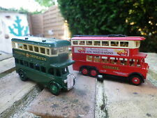 DAYS GONE by Lledo AEC REGENT BUS STOCKTON PROMO et TROLLEY neuf sans boite