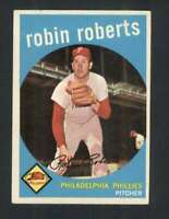 1959 Topps #352 Robin Roberts EXMT+ Phillies 122885