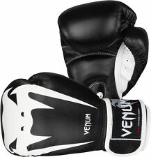 Venum Giant 1.0 Boxing Gloves (Black/White) Size: 10 oz