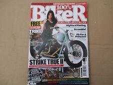 BIKER custom bike mag See the photos for content. Issue131 Harley Scramble Trike