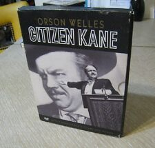 Dvd Orson Welles In Citizen Kane Remastered Picture & Sound 2 Disc Set Xlnt