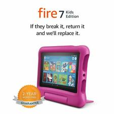 """Amazon Fire 7 Kids Edition 7"""" Tablet - 16 GB Pink 2017 Model"""