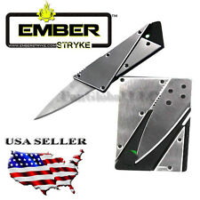 CREDIT CARD CARDSHARP 2 FOLDING WALLET KNIFE