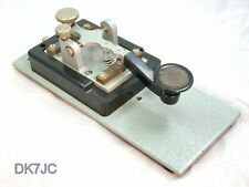 Morsetaste Morse Key Telegraph Key Morse Cley Junker MT Sammlerstück