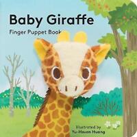 (Very Good)-Baby Giraffe: Finger Puppet Book (Little Finger Puppet Board Books)