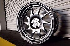 Whistler KR7 Wheels Rims 15x8 4x100 20 Offset Chrome 531 Civic Integra Scion xB