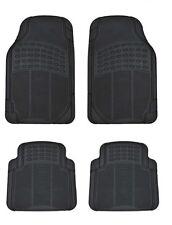 Automatten Schwarz Gummimatten Gummi-Fußmatten 4tlg. für MERCEDESS BMW AUDI MINI
