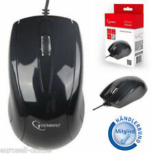 GEMBIRD Mouse USB PORTATILE NOTEBOOK COMPUTER PC CAVI XP WINDOWS 7 ERGONOMICO NUOVO