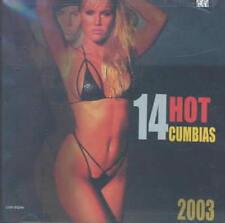 VARIOUS ARTISTS - 14 HOT CUMBIAS 2003 NEW CD
