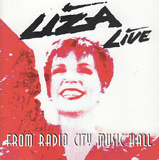 Live from Radio City Music Hall by Liza Minnelli (CD, 1992) Phil Ramone/Fred Ebb