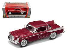 1958 STUDEBAKER GOLDEN HAWK GARNET 1/43 DIECAST MODEL CAR ROAD SIGNATURE 94254