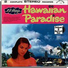 101 Strings - Hawaiian Paradise / The Romance of Hawaii - New Double LP Record!