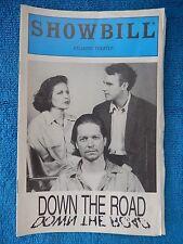 Down The Road - Atlantic Theatre Playbill - 1993 - Eric Stoltz - Lisa Eichhorn