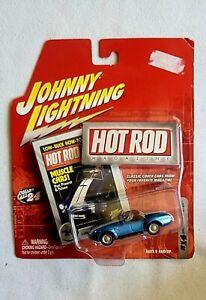 Johnny Lightning 🌩 Hot Rod Magazine #14▪︎SHELBY COBRA 427 S/C Convertible(2004)