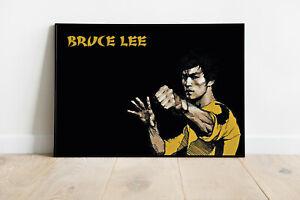 "Poster Artwork ""BRUCE LEE"" DinA1 quer"