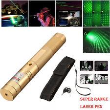Grün Laserpointer 5 Meile 8046m Reichweite Laser Pointer Präsentation Pen 1mw