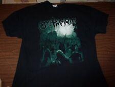 Baphomet Death In The Beginning Sevared Records Concert Tee Authentic Gildan Xl