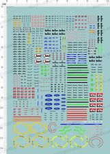 1/43 Water Slide Decals for F1 racing car  64252C