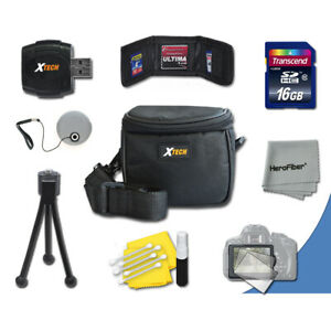 Starter Accessory Kit for Nikon Coolpix L120 L110 L105 L100 Digital Cameras