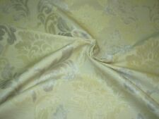 """~11 YDS~ """"VICTORIAN FLEUR DE LIS""""~EMBROIDERED UPHOLSTERY FABRIC FOR LESS~"""
