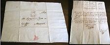Prefilatelica storia postale Regno d'Italia Macerata Prefettura del Musone 1808