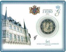 "Luxemburg 2 euro "" Huwelijk/mariage"" 2012 BU Coincard Commemorative/ Herdenking"