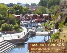 Idaho - LAVA HOT SPRINGS - Travel Souvenir Magnet