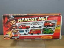 "MATCHBOX  MODEL "" GIFT SET  No.12 RESCUE SET  VN MIB"