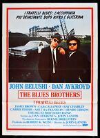 manifesto THE BLUES BROTHERS John Beluschi Dan Aykroyd John Landis poster M265