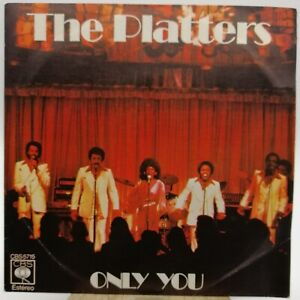 The Platters ‎– Only You - Single 1977 Spain Doo Wop/Vocal Y