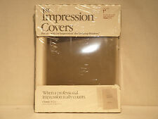 "Avery 1st Impression 03-537 1"" Classic White Thermal Binding Covers"