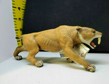 PAPO Smilodon Prehistoric Mammal Saber-Toothed Tiger or Cat  # 55022 NWT
