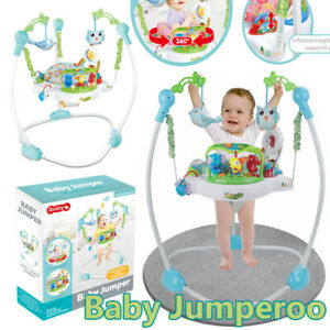 Roaring Rainforest Baby Jumperoo Bouncer Jumping Baby Toy Activity Music Sounds