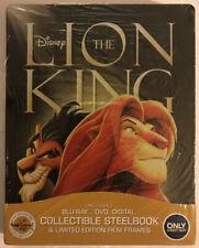 NEW THE LION KING BLU-RAY+DVD+DIGITAL HD STEELBOOK! U.S BEST BUY! FACTORY SEALED