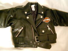 Harley Davidson Motorcycle Jacket Toddler Size 18 mo