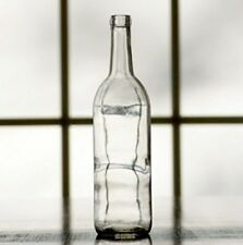 Clear Glass Wine Bottles 750 Ml Set Of 12 Home Brew Claret Bordeaux Craft NO TAX