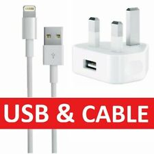 100% Genuine Charger Plug And USB Cable Sync Lead For Apple iPhone 8 7 6s 5 XS X