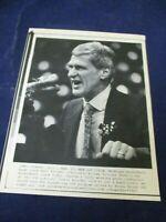 Wire Press Photo 1989 Bill Frieder Michigan to Arizona State basketball coach