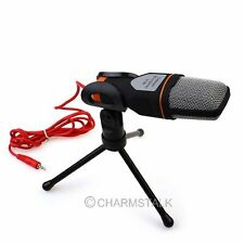 Professional Audio Condenser Microphone Mic Studio Recording Shock Mount Black